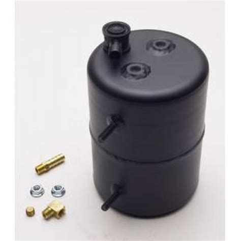 Vaccum Canister comp cams vacuum canister black powder coated aluminum northern auto parts