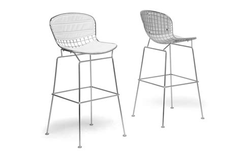 20 bayside bar stools modern furniture cheap baxton studio tolland modern bar stool with white cushion