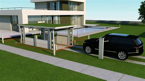 Garage Under House Plans by Idealpark Car Lift Invisible Solution For Private House