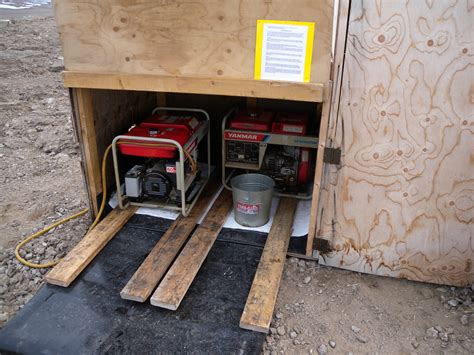 top 5 steps to building a small generator storage shed quickly