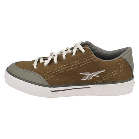 mens reebok canvas tennis shoes slice khaki ebay