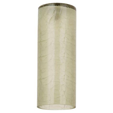 sea glass l shade sea gull lighting ambiance bamboo green crackle glass