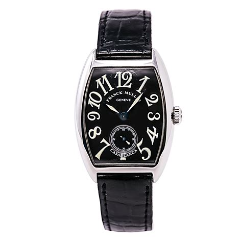Best Arloji Frank Muller Black frank muller casablanca 7502 s6 unisex manual winding black 28mm ebay