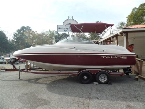 tahoe boats used used tahoe boats for sale 3 boats