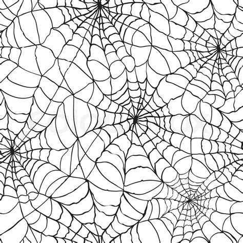 web pattern com spider web seamless halloween background texture cobweb