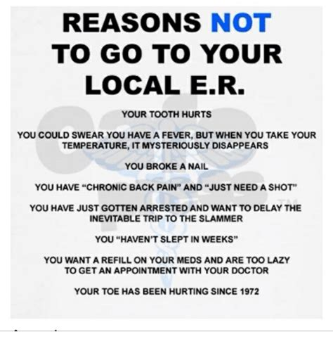 7 Reasons Not To Get Back With Your Boyfriend by Reasons Not To Go To Your Local Er Your Tooth Hurts You