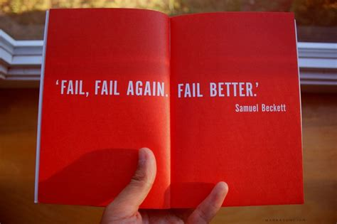 fail better fail fail again fail better words quotes