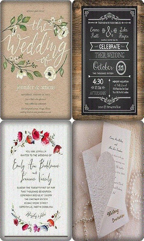 printable wedding invitations app free modern wedding invitation wording apk download for
