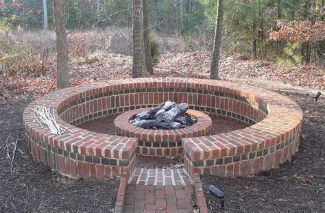brick outdoor pit 10 best images about bricks for pits on