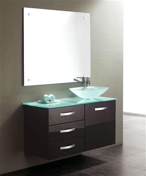 Glass Vanity Tops Tempered Glass Vanity Tops For A Striking Modern Bathroom