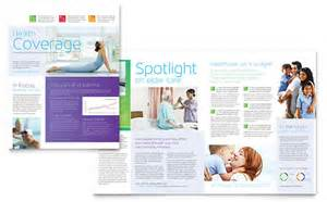 Health Newsletter Templates by Health Care Newsletters Templates Designs