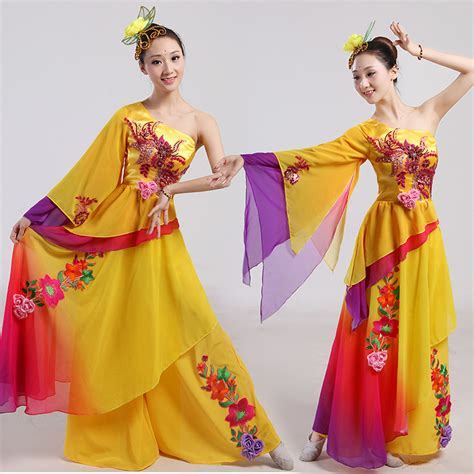 Simple Dress Rajut Bkk disfraces direct selling hanfu classical costumes yangko wear and folk
