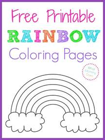 what color is not in the rainbow free printable rainbow coloring pages what does