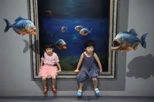 3d paintings interactive 3d wall art masterpieces pinterest 3d