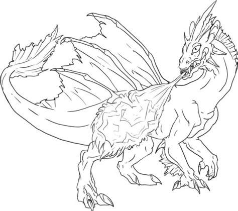 advanced coloring pages of dragons coloring pages glamorous dragon coloring page 101