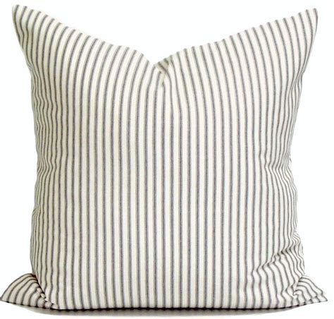 ticking stripe pillow covers ticking decorative