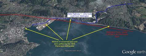 earthquake wellington the wellington earthquake landslide problem the