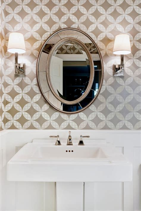 powder room mirrors awesome decorative oval mirrors bathroom decorating ideas