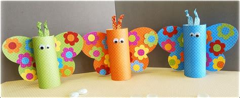 Some Paper Crafts - time to some and create paper roll crafts with