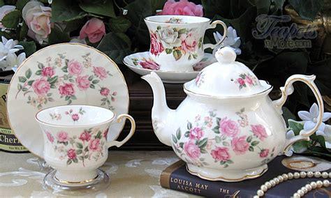 Classic Lovely Tea Sets by Heirloom Vintage 1940 Bone China Starter Tea Set China