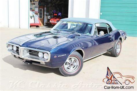 Pontiac Firebird 67 by 67 1967 Pontiac Firebird 400 4 Speed Convertible