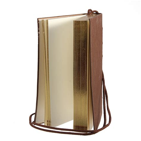 sketchbook lazada retro vintage pu leather bound blank pages journal diary