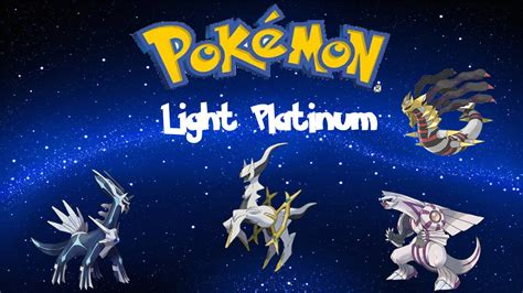 pokemon mega light platinum descargar pokemon light platinum