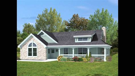 country farmhouse house plan wrap around porch story farmhouse plans with