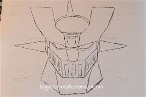 imagenes de mazinger z para dibujar faciles tarta mazinger z paso a paso paperblog