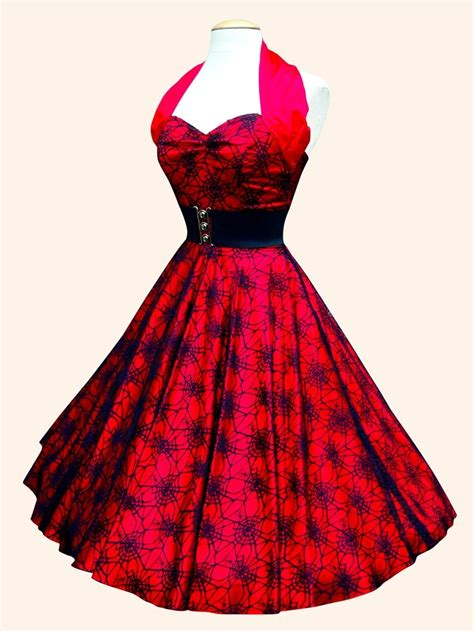 Wed To Be Dresses by 1950s Halterneck Luxury Satin Spiderweb Dress From