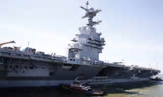 uss gerald r ford cvn 78 aircraft carrier us navy