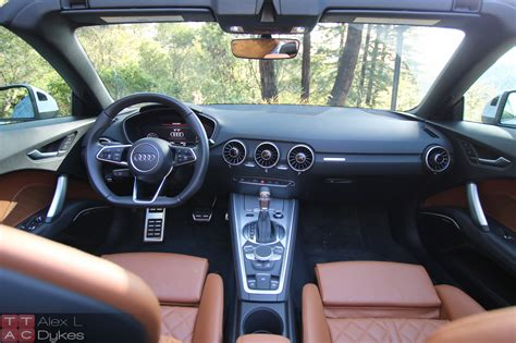 audi convertible interior 2016 audi tt roadster interior 003 the about cars