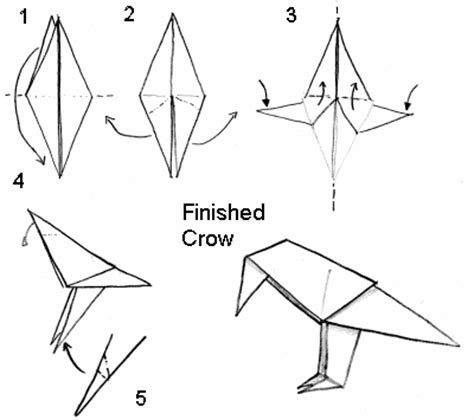 tutorial origami hewan wahyunal yuriswan tutorial origami binatang burung