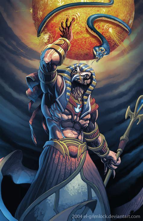 imagenes de dios ra los dioses egipcios taringa