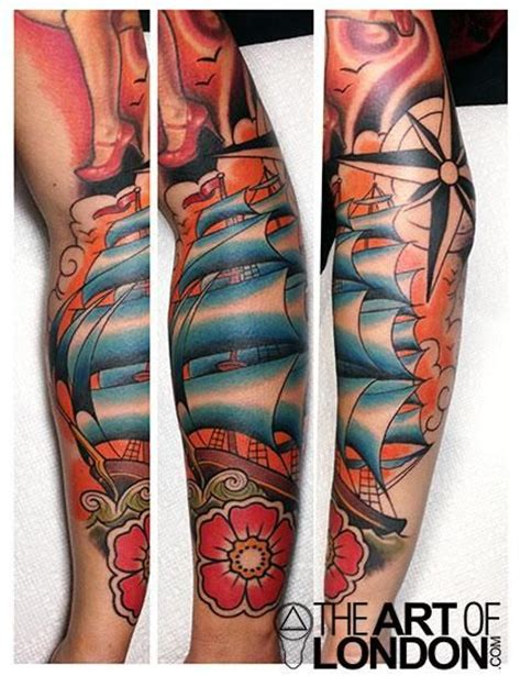clipper ship tattoo designs 89 best images about tattoos by reese on