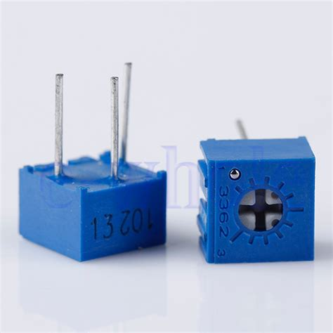 variable resistor 102 10pcs 3362p 102 3362 p 1k ohm high precision variable resistor potentiometer dt