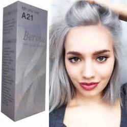 grey hair color dye light grey color crem a21 berina permanent hair style dye