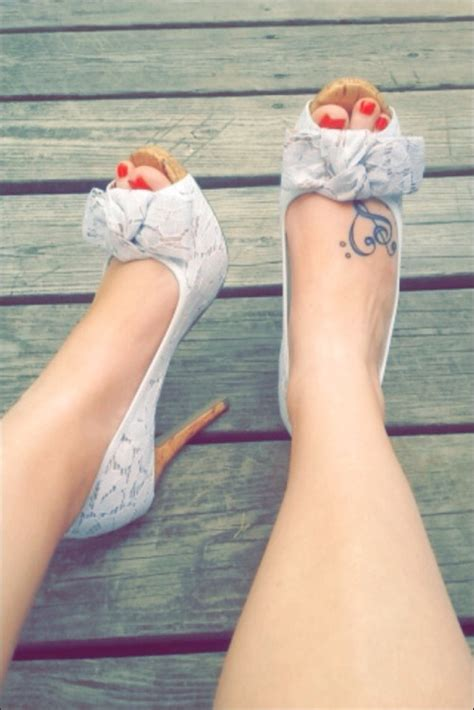small girl foot tattoos 100 small designs for