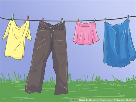 8 Ways To Customise Your Clothes by The 3 Best Ways To Remove Static From Polyester Clothes