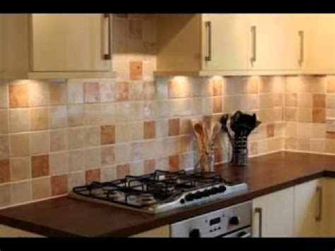 Design Of Tiles For Kitchen by Kitchen Wall Tile Design Ideas Youtube