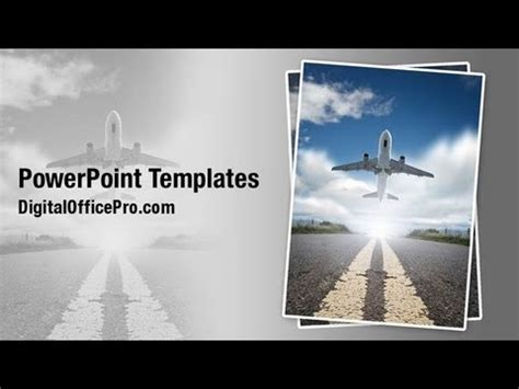 Airport Powerpoint Template Backgrounds Digitalofficepro Airport Ppt Template Free