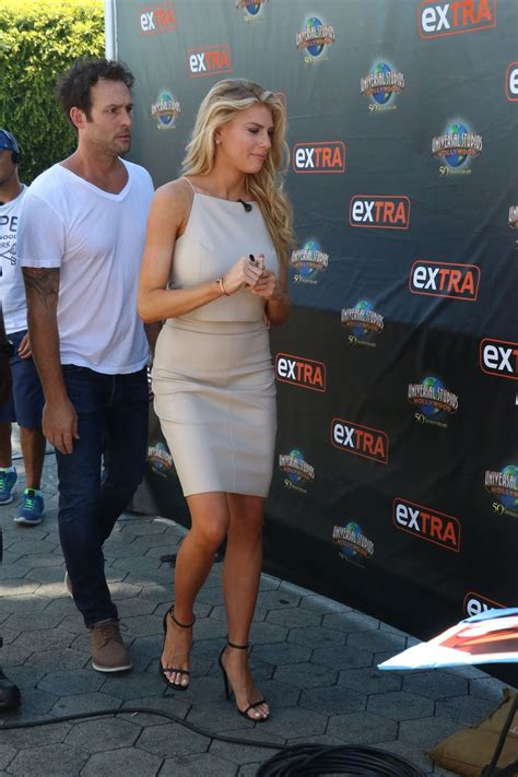 charlotte mckinney on the set of extra in universal city charlotte mckinney on the set of extra in universal city
