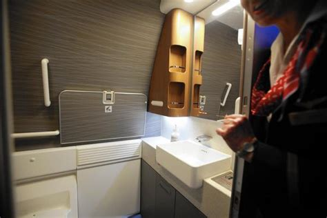 bathroom privileges on airliners bathroom privileges are not a passenger s