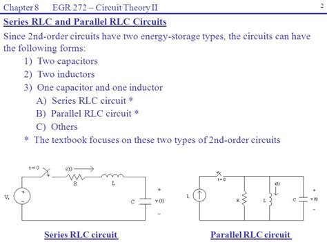rlc parallel circuit with resistance in series with the inductor reading assignment chapter 8 in electric circuits 9th ed by nilsson ppt