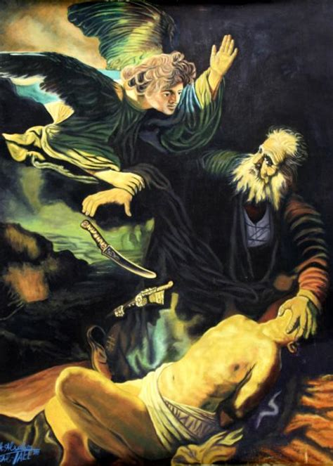 film nabi ismail prophet ibrahim and his son izaq or ismail by abed alsalam