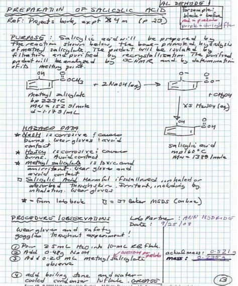 journal of organic chemistry template chemistry lab notebook exle organic chemistry