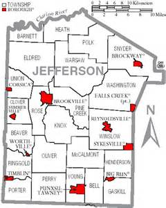 jefferson county map jefferson county pennsylvania genealogy records deeds