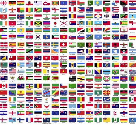 imagenes de banderas de paises pack de banderas para tus dise 241 os