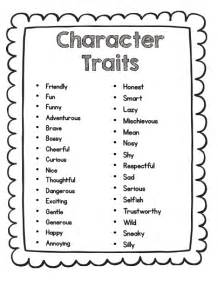 primary chalkboard teaching character analysis using
