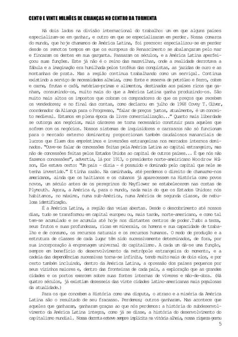 LIVRO PDF PARA BAIXAR Veias abertas da AMÉRICA latina